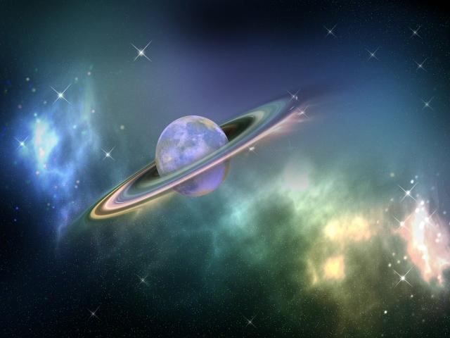 環のある惑星
