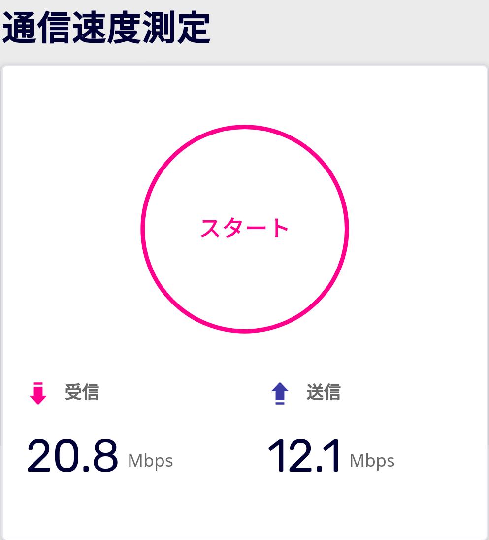 通信速度、ロータリー